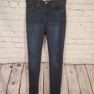 Kancan Dark Wash Skinny Jeans